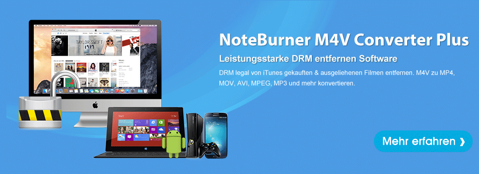 NoteBurner M4V Converter Plus